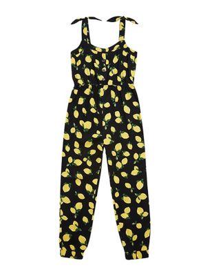 Lemon Print Jumpsuit