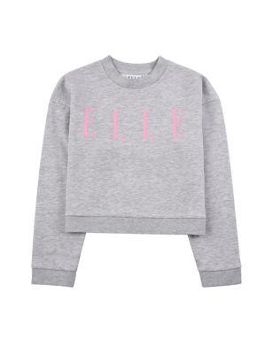 Cotton Slogan Sweatshirt (7-16 Yrs)