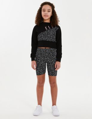 Cotton Spotted Shorts (7-16 Yrs)