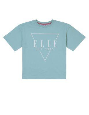 Pure Cotton Triangle Logo T-Shirt