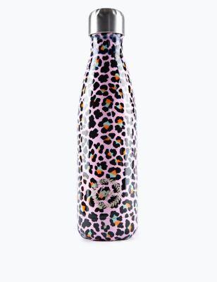 Kids' Leopard Print Water Bottle (5+ Yrs)