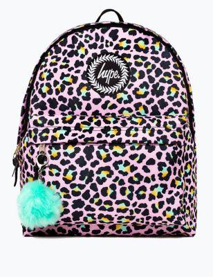 Kids' Leopard Print Backpack (5+ Yrs)