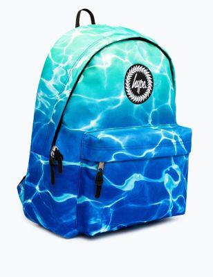 Kids' Pool Print Backpack (5+ Yrs)
