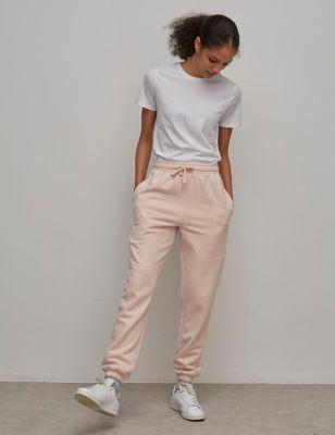 Cotton Be Kind Slogan Tapered Joggers