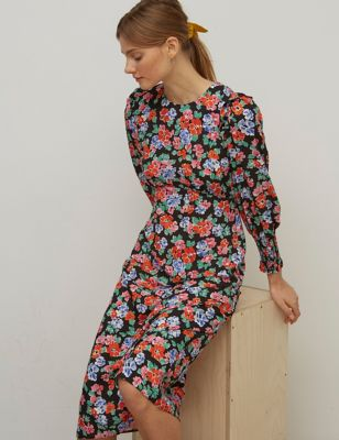 Floral Midaxi Tea Dress