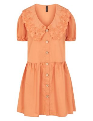 Organic Cotton Collared Tea Dress