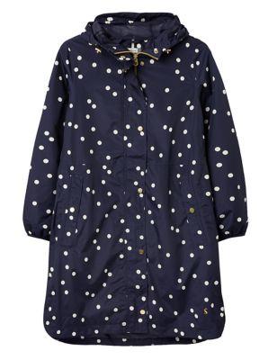Waterproof Printed Longline Raincoat