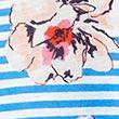 Pure Cotton Floral Crew Neck T-Shirt - bluemix