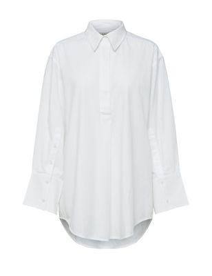 Organic Cotton Relaxed Long Sleeve Shirt