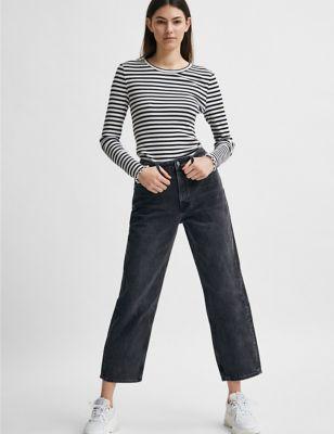 Organic Cotton Straight Leg Jeans
