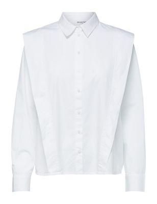 Organic Cotton Collared Long Sleeve Shirt