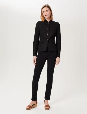 Linen Short Blazer