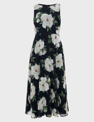 Carly Floral Skater Dress