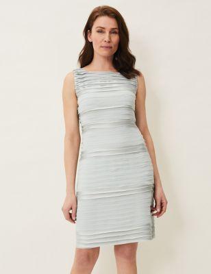 Knee Length Shift Dress