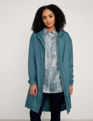 Longline Relaxed Utility Raincoat