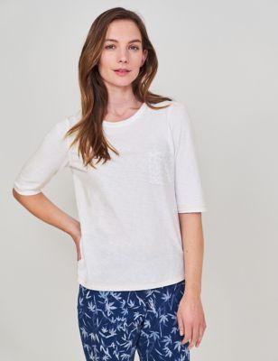 Pure Cotton Half Sleeve T-Shirt