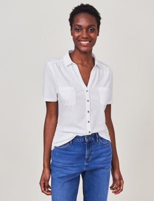 Pure Cotton Collared Regular Fit shirt