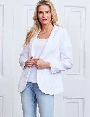 Pure Linen Relaxed Blazer