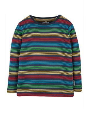 Organic Cotton Striped Top (0-5 Yrs)