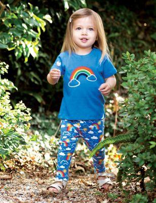 Organic Cotton Rainbow Leggings (0-5 Yrs)