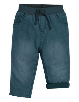 Organic Cotton Lined Jeans (0-5 Yrs)