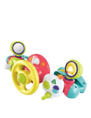 Lights & Sounds Buggy Driver Toy (6-18 Mths)