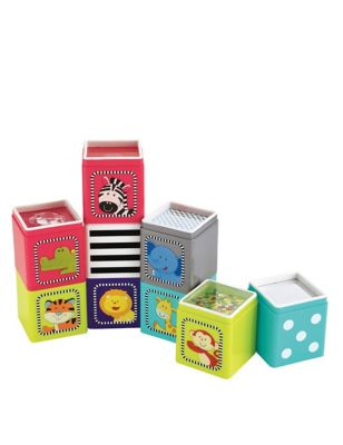 Jungle Cubes Toy (6-36 Mths)