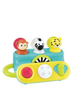 Pop Up Jungle Animals Toy (9-24 Mths)