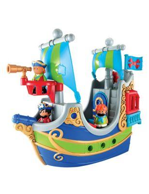 Happyland Pirate Ship (2-5 Yrs)
