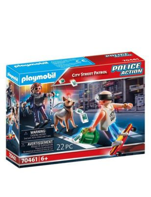 Police Action City Street Patrol Set (6-10 Yrs)