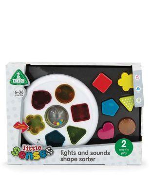 Little Senses Lights & Sounds Shape Sorter (6-36 Mths)