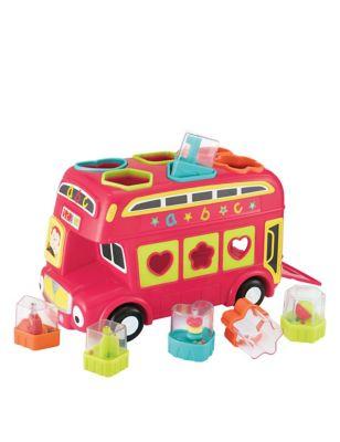 Shape Sorting Bus (6-36 Mths)