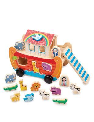 Noah's Ark Shape Sorter Toy (1-3 Yrs)