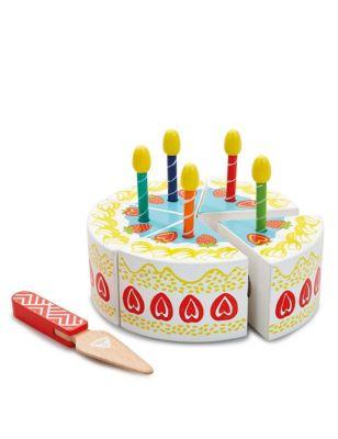 Wooden Birthday Cake (3+ Yrs)