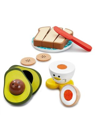 Wooden Breakfast Playset (3+ Yrs)