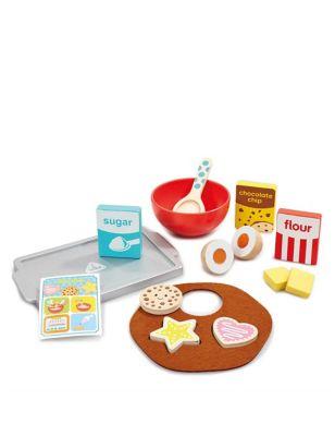 Wooden Cookie Baking Set (3+ Yrs)