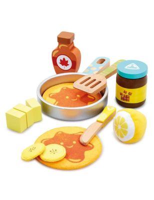 Wooden Pancake Playset (3+ Yrs)