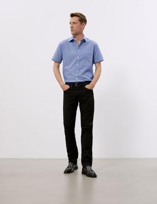Regular Fit Pure Cotton Check Shirt