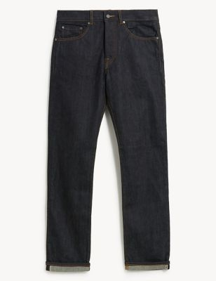 Slim Fit 5 Pocket Selvedge Jeans