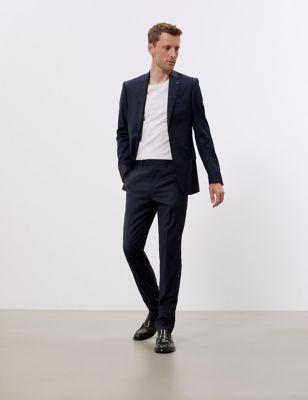 Slim Fit Pure Wool Jacket