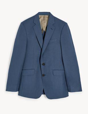 Regular Fit Silk Linen Jacket