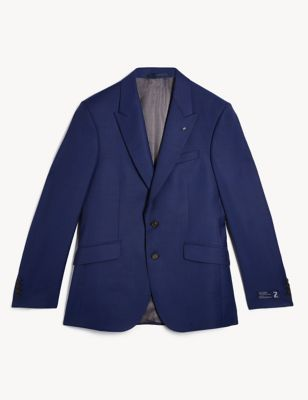 Regular Fit Pure Wool Jacket