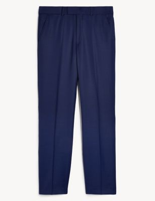 Regular Fit Pure Wool Trousers