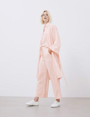 Pure Linen Robe