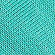 Jersey Scoop Neck 3/4 Sleeve Top - turquoise
