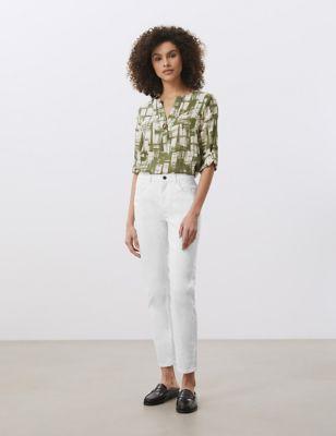 Slim Fit Ankle Grazer Jeans