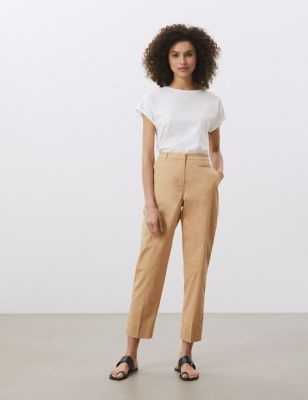 Cotton Tapered Chinos