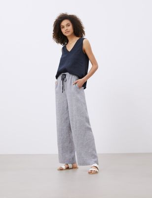 Pure Linen Lounge Trousers