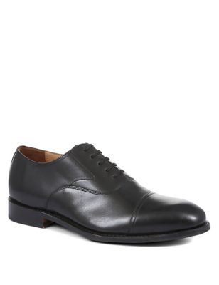 Leather Goodyear Welted Oxford Shoes
