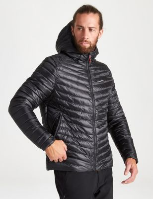 Recycled Hooded Utility Jacket